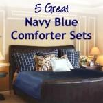 Navy Blue Comforter Sets