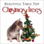 Table top christmas tree